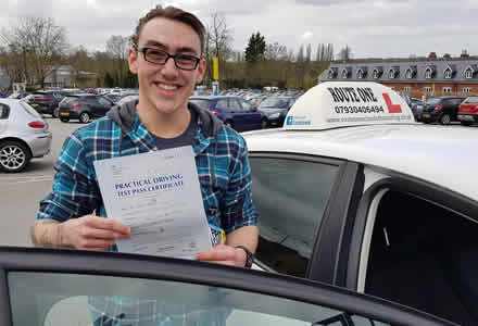 Brandon pupil just passed their driving test