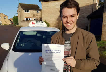 Passed first time!