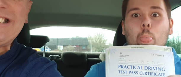 Pass your driving test - and celebrate!