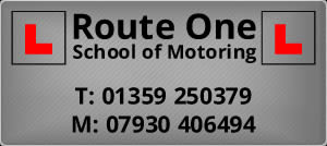 Logo for Route One School of Motoring, Thetford