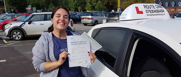 Thetford driving school success: another pass!